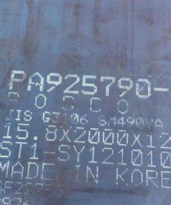 Thép tấm SM490 giá rẻ, hỗ trợ vận chuyển tại Tp.Hồ Chí Minh, Đồng Nai, Bình Dương, Miền Tây.